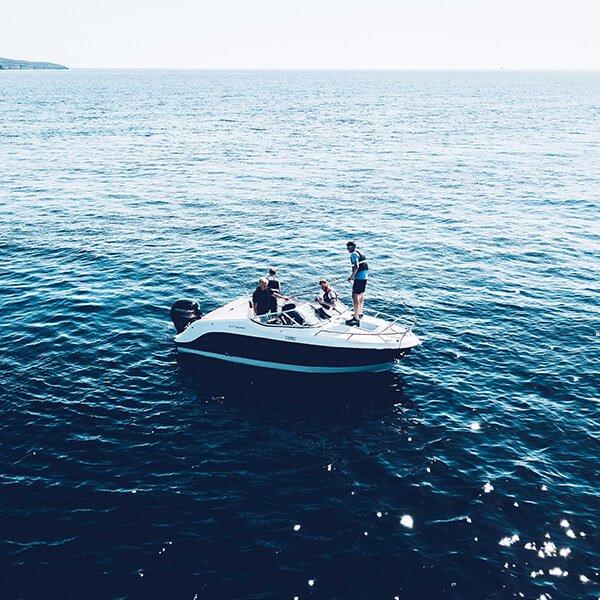 Dandelion Villas Paxos Experience Group Boat